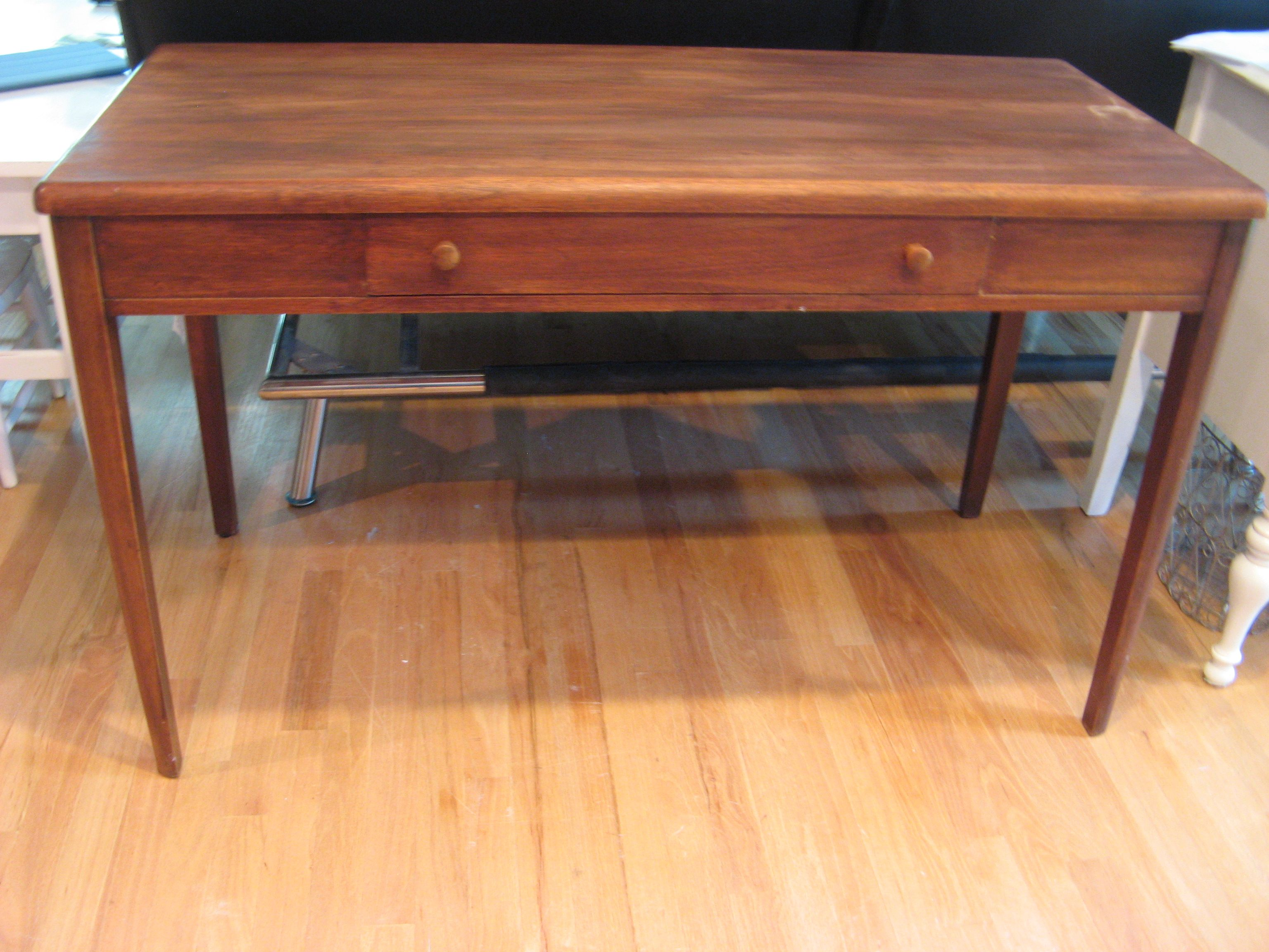 Nucraft Furniture Grand Rapids Michigan Danish Modern Style Desk With One  Drawer