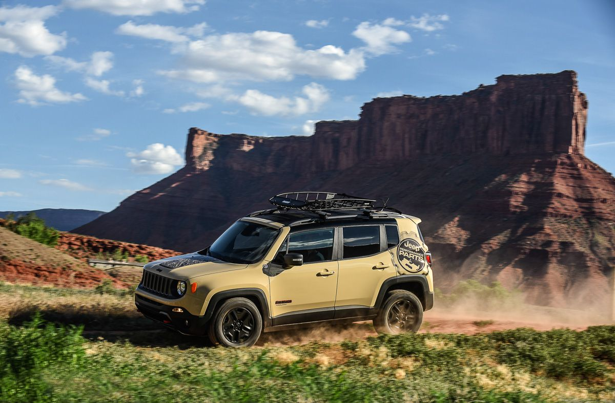 Release Jeep Renegade 2.4 Trailhawk Review Front Side View