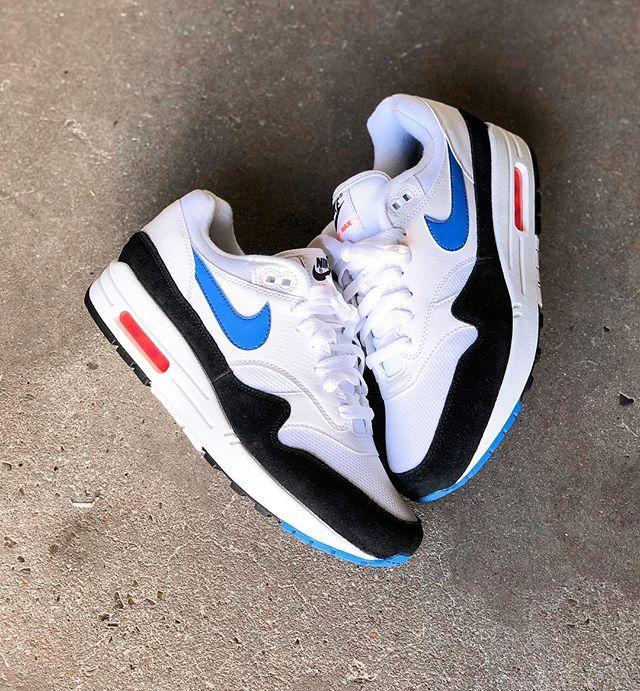 Chaussure Nike Air Max 1 Essential iD pour Homme Sko신발 Sko 신발
