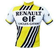 RENAULT GITANE RETRO VINTAGE CYCLING TEAM BIKE CYCLE SHORT SLEEVE SUMMER JERSEY