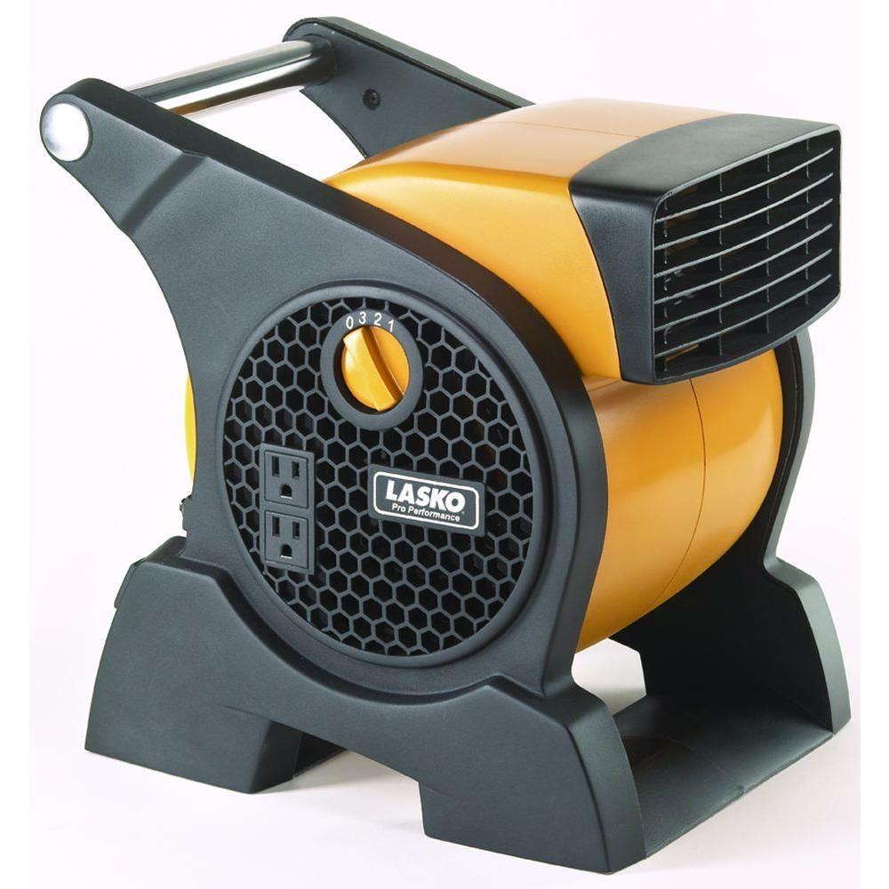 Pro Performance High Velocity Blower Fan Yellow Lasko Blower