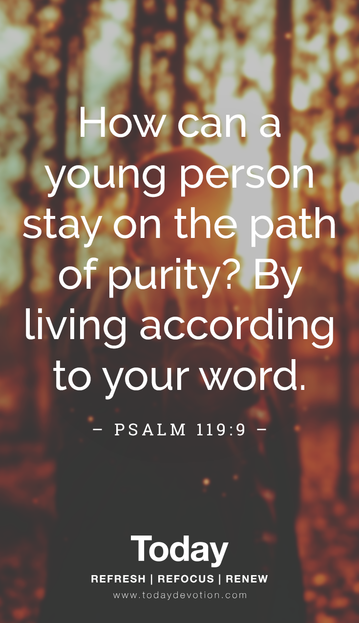 How Can Young People Walk in Purity By living according to your word