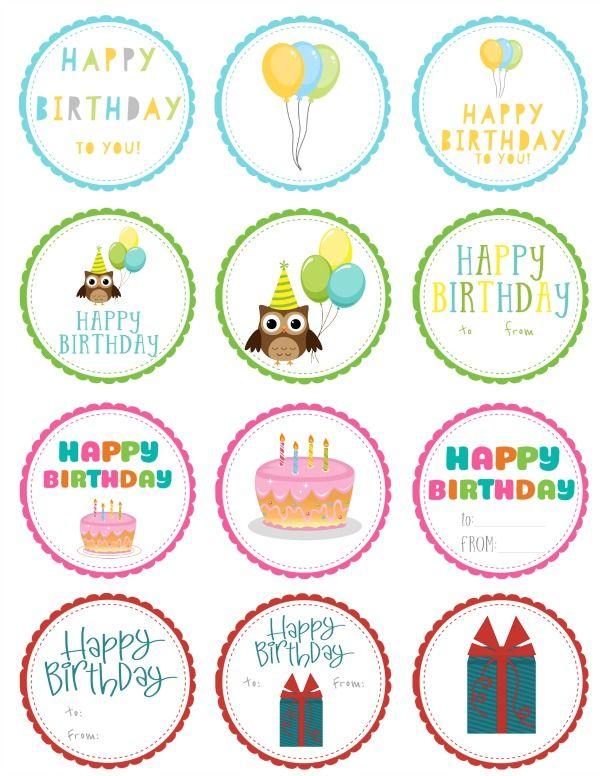 Free Printable Birthday Gift Tags Free Printable Gift Tags Birthday Birthday Gift Tags Printable Birthday Gift Tags
