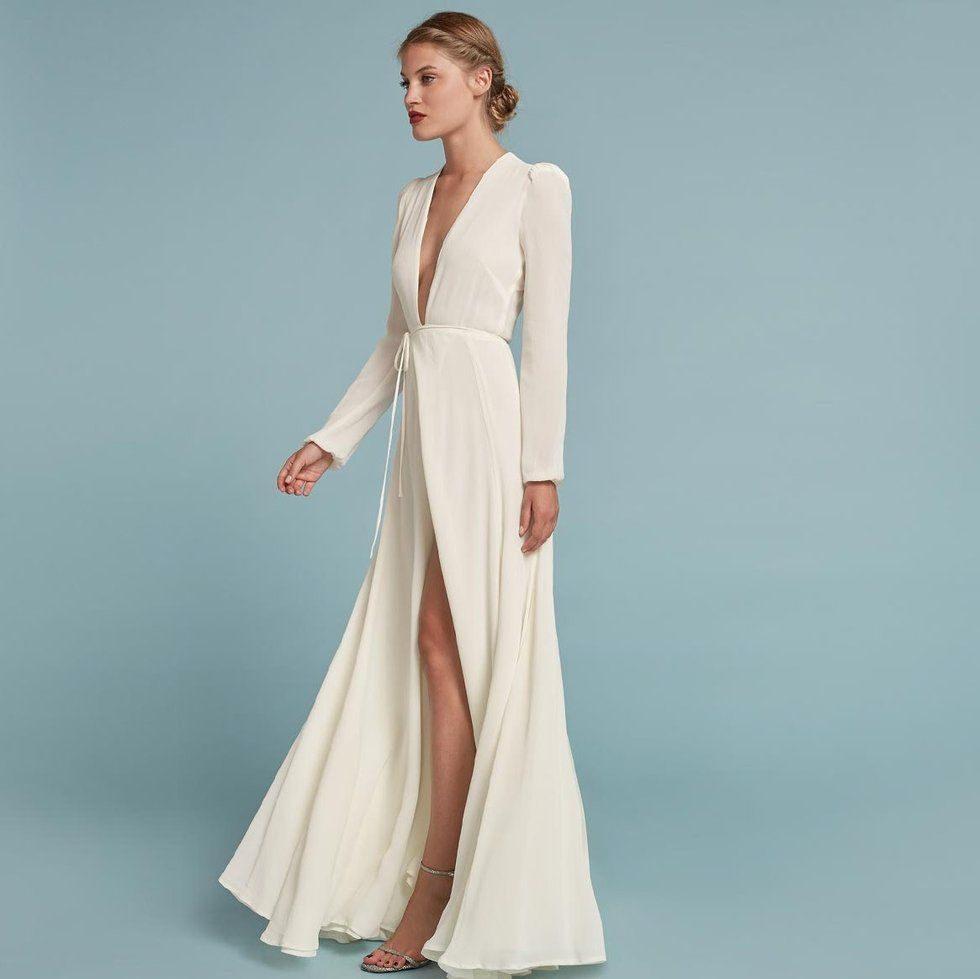 Cheap maxi dresses for weddings  Here comes Reformationus latest sustainable bridal collection u all