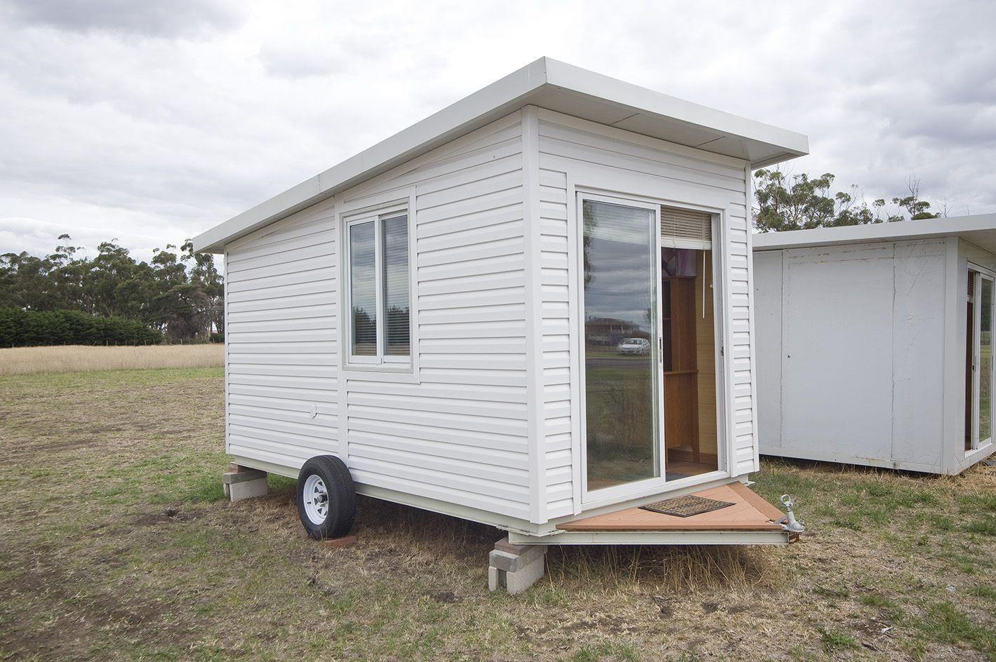 Pre Fab Home Mobile Luxury Prefabricated Tiny House Trailer On Wheels Tiny House Trailer Prefab Homes Diy Tiny House