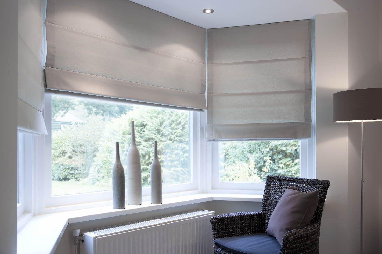 Praxis vouwgordijnen raamdecoratie inspiratie praxis for Gordijnen slaapkamer verduisterend