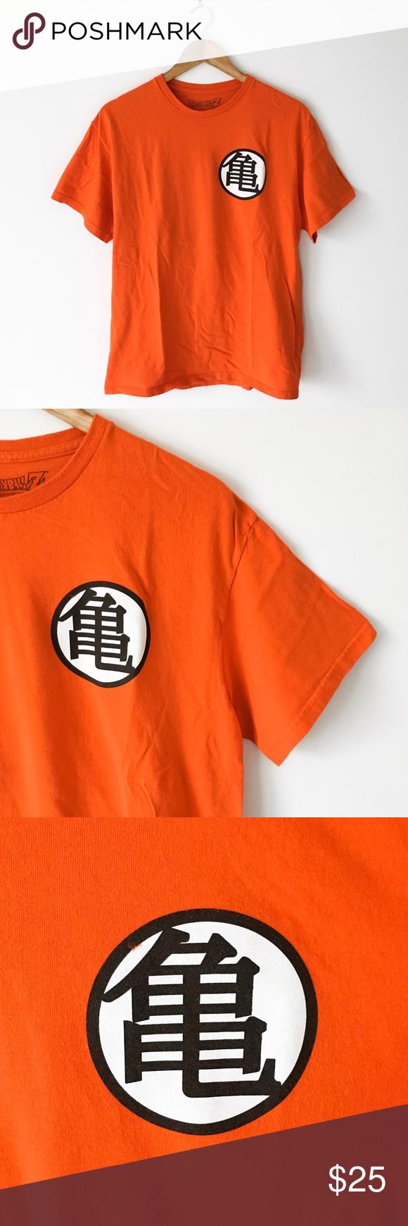 Official Dragon Ball Z Goku T Shirt Goku T Shirt Black And White Logos Retro 90s