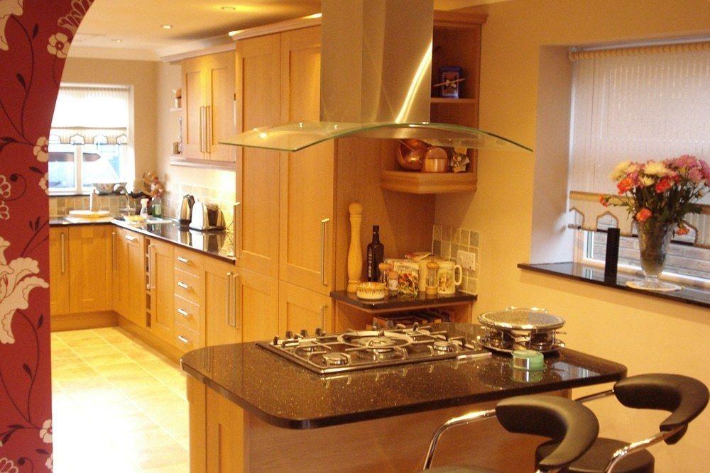 DSC01439 Garage conversion, Kitchen, Living spaces