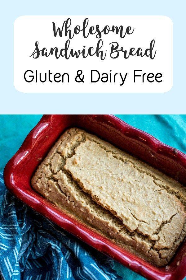 Healthy Glutenfree, Dairy Free Whole Foods Bread