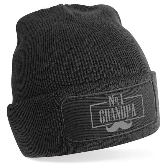 Grandpa Birthday Gift Beanie Hat Present Happy Birthday Grandpa Gift Keepsake Christmas Xmas Gift Grandpa And Me