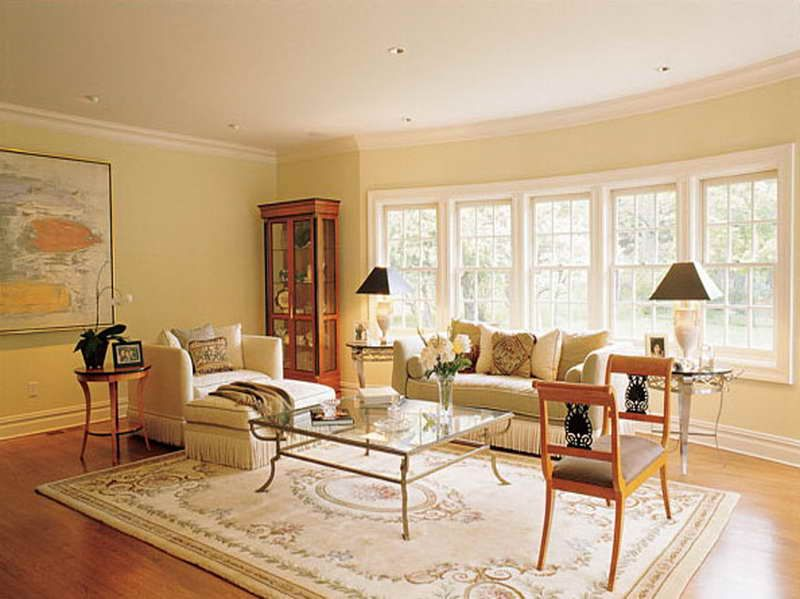 Best neutral paint colors with wooden floor warm cream for Warm cream paint colors