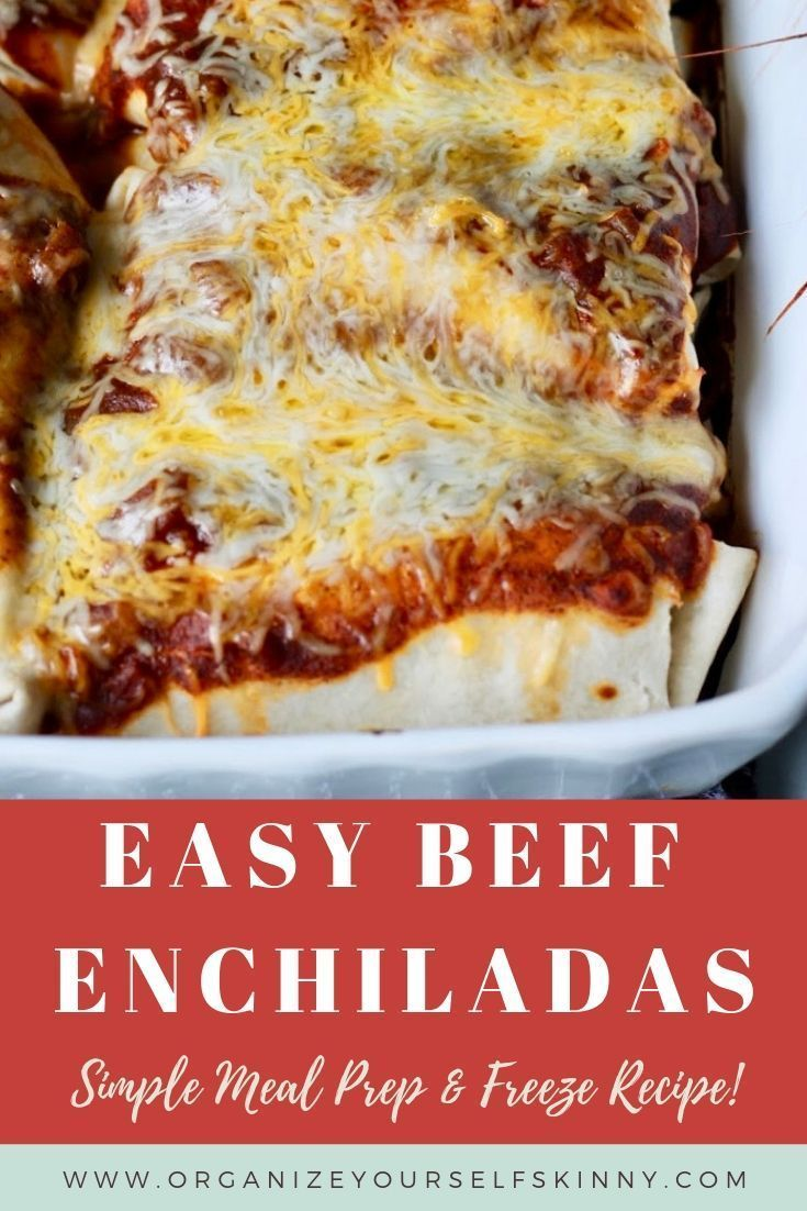 Easy Beef Enchiladas: Simple Meal Prep images