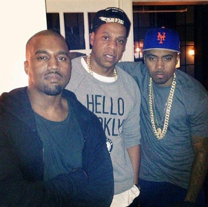 Kanye, Jay & Nas