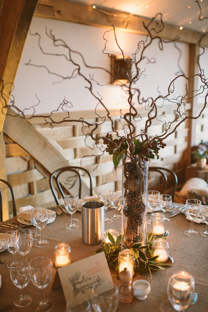 A Rustic Winter Wedding At Cripps Barn With DIY Home Made Decor And Halfpenny London Bridal Gown Blue Maids Dresses Photography By Ellie Gilliard