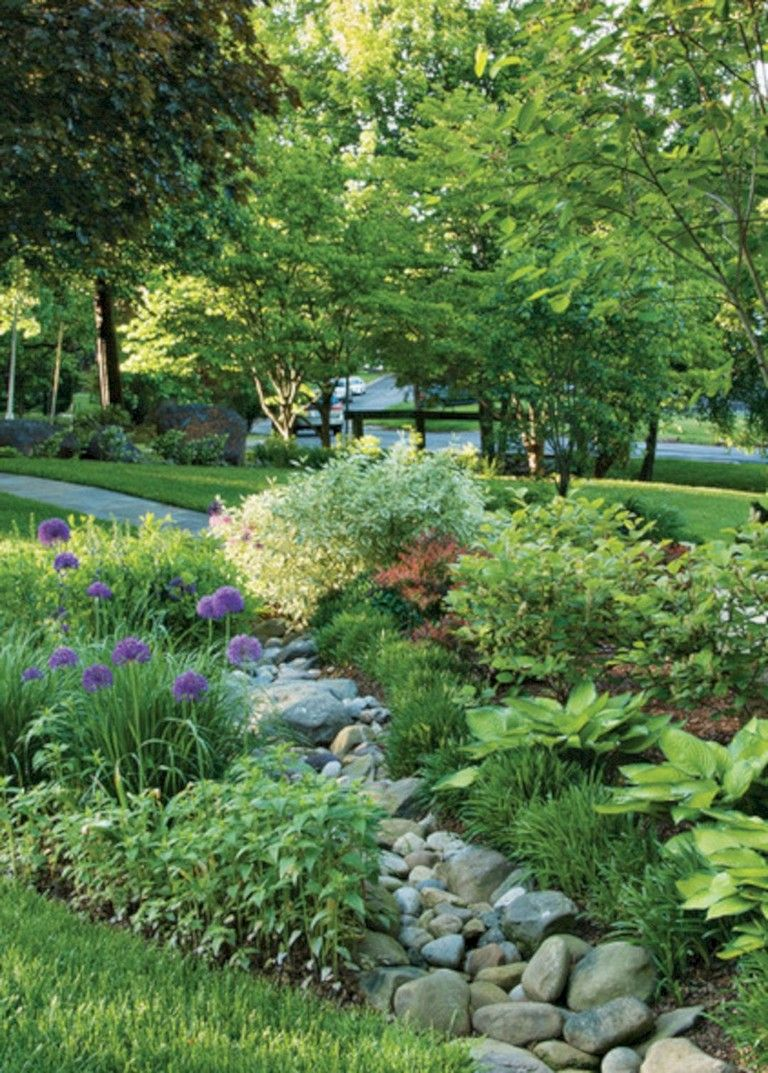 73+ Lovely Rain Garden You Should Have In Your Home Front