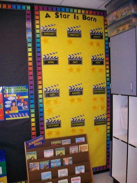 Hollywood Theme birthday board Hollywood theme Pinterest