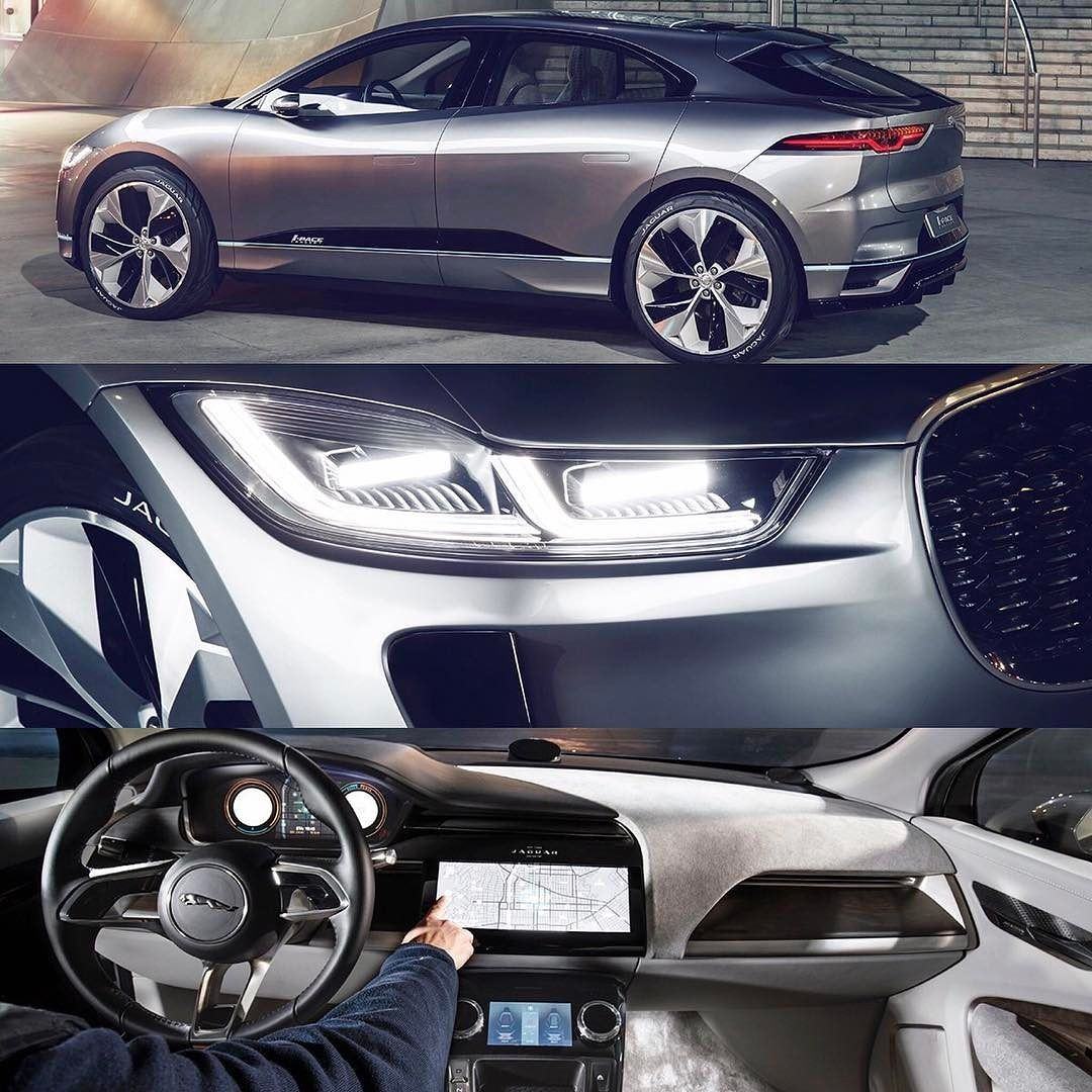cde96e533e4b5 The Jaguar I-Pace Concept  Jaguar  IPace  concept   T H E R A C E ...