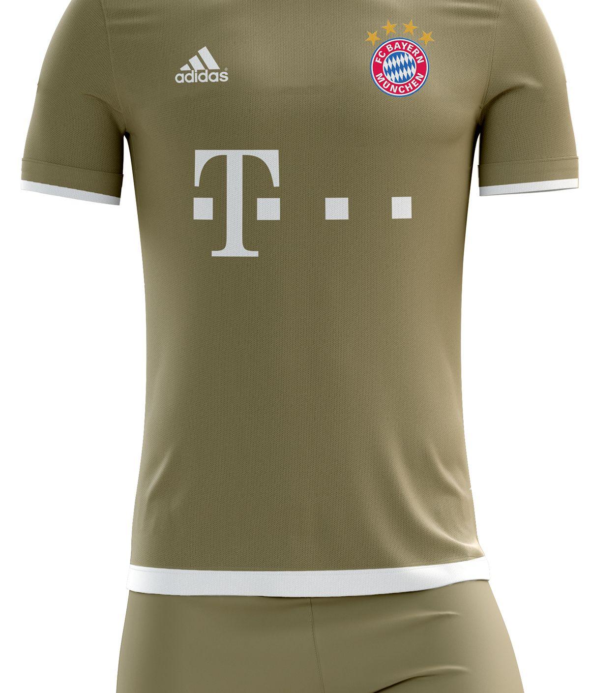 c071b816d4f Fc Bayern Munchen Football Kit 16 17. on Behance