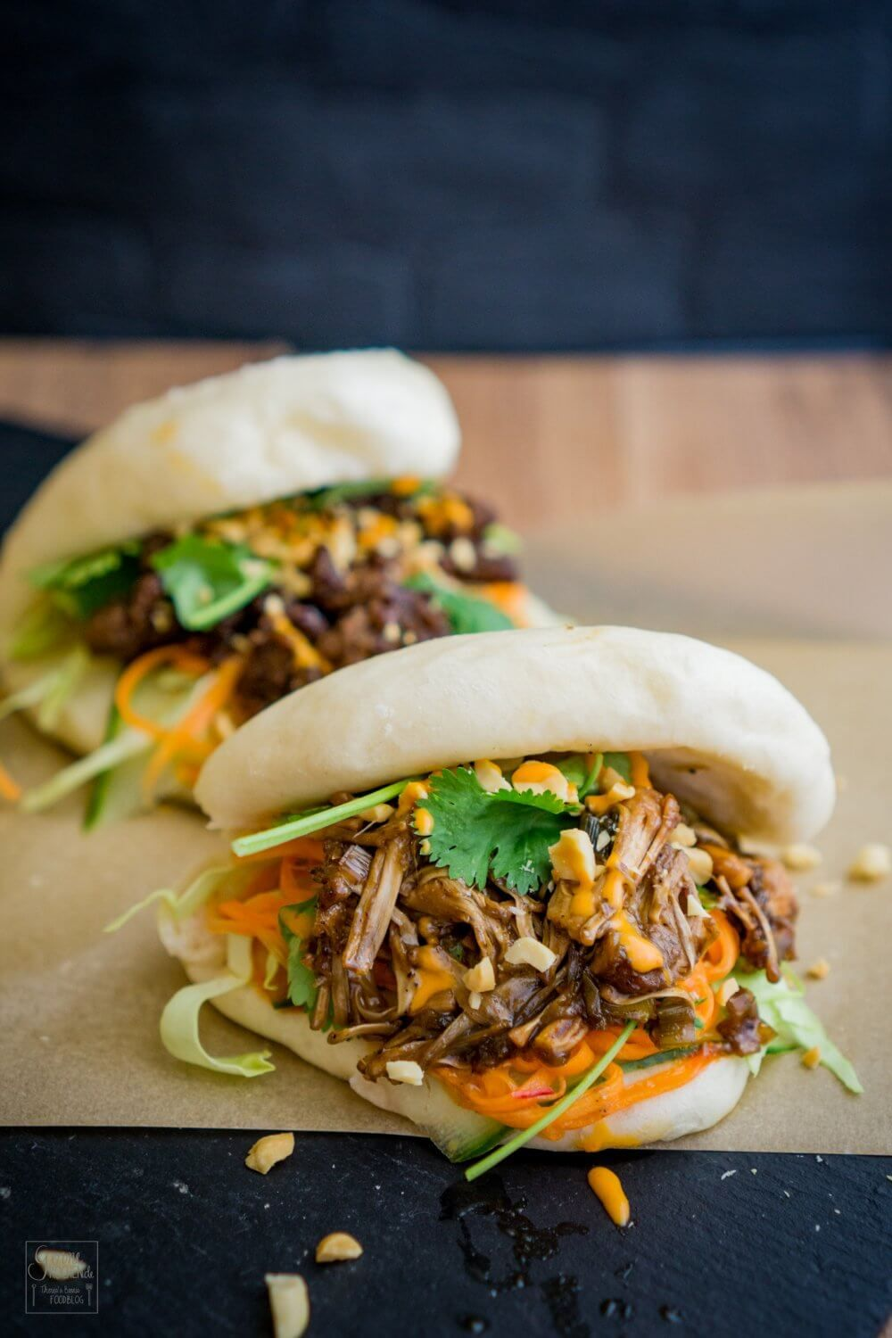 Photo of Rezept: Gua Bao Burger – asiatisches Streetfood – gernekochen.de
