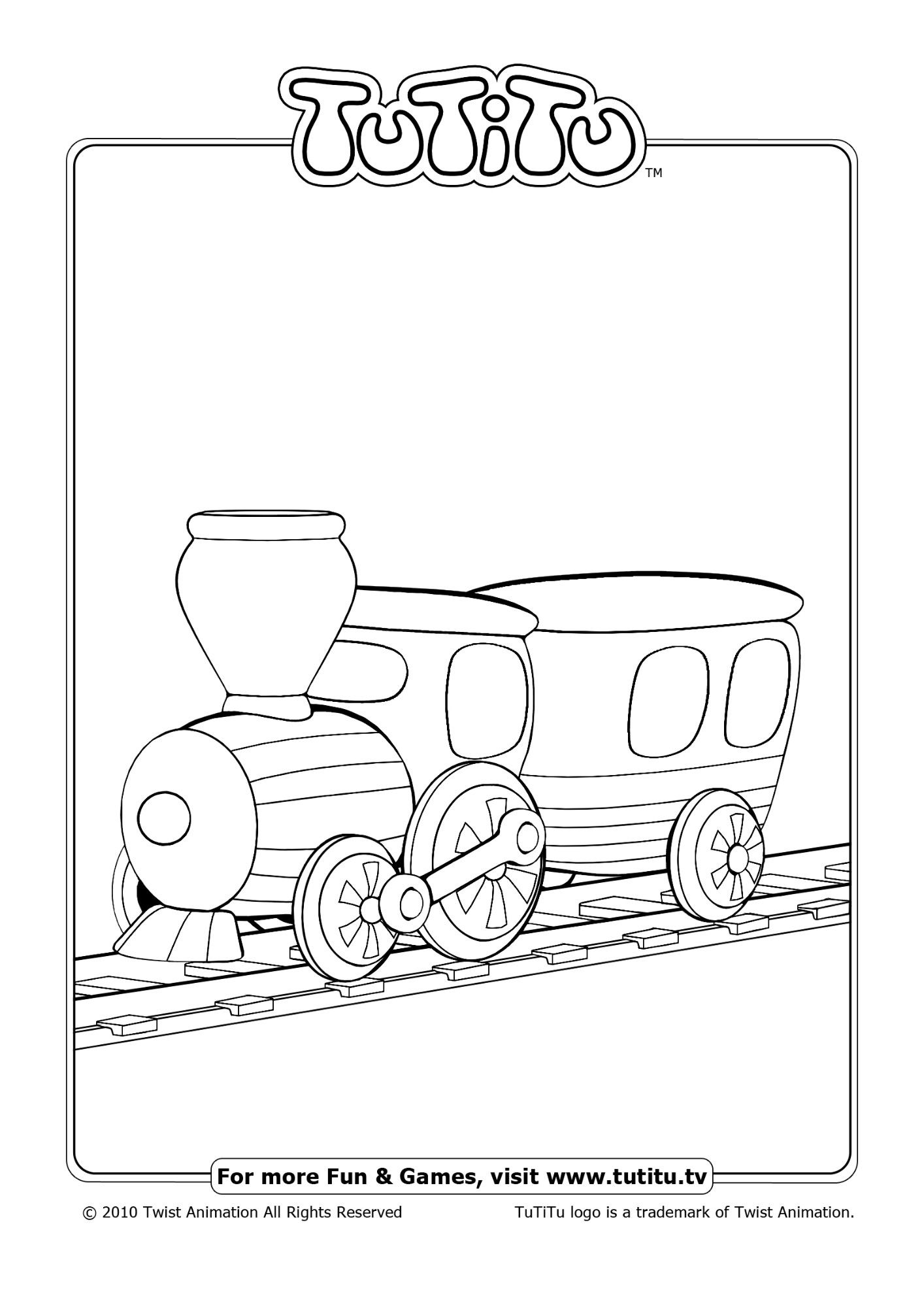 Free Coloring Pages Await in TuTiTu\'s Playground - games, puzzles ...