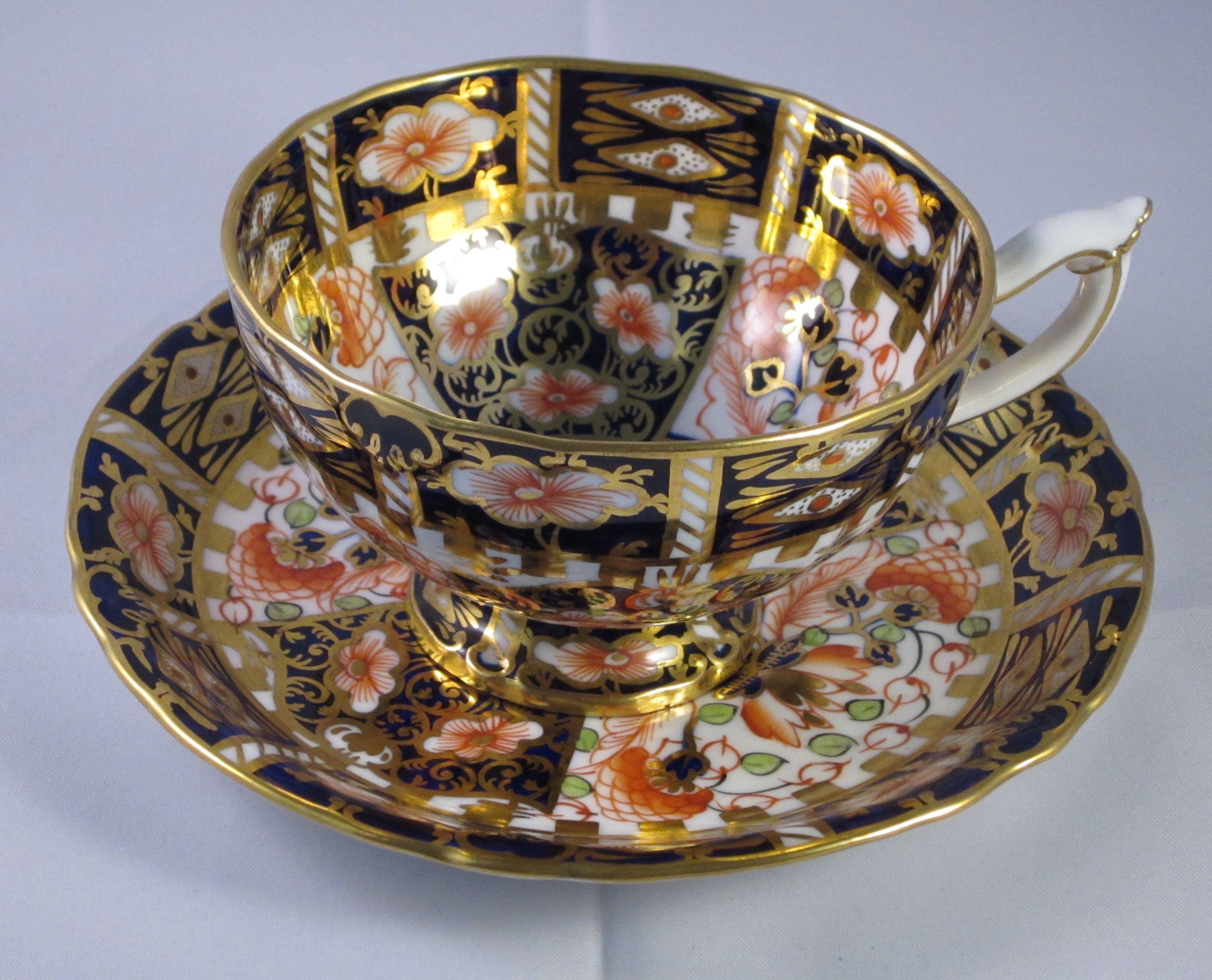 Royal Crown Derby Imari Tea Cup And Saucer Decoracion Japonesa Tazas Decoracion De Unas
