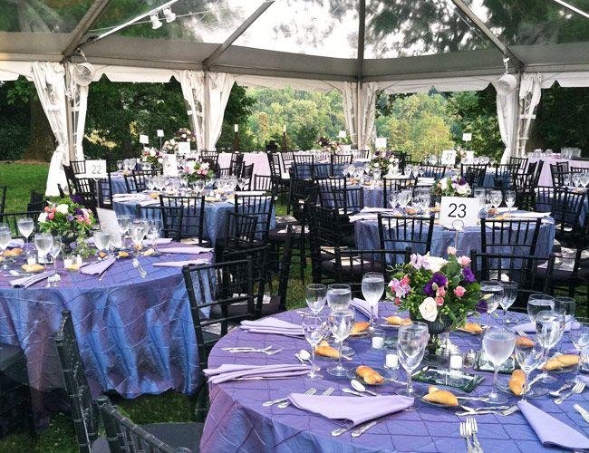 Outdoor Wedding Receptions At The Gardens Morris Arboretum