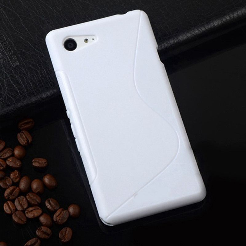 """Z1 Compact Silicone S Line New Phone Case For SONY Xperia Z1 mini D5503 M51W Z1 Compact 4.3"""" Soft Matte Back Cover Phone Bag"""