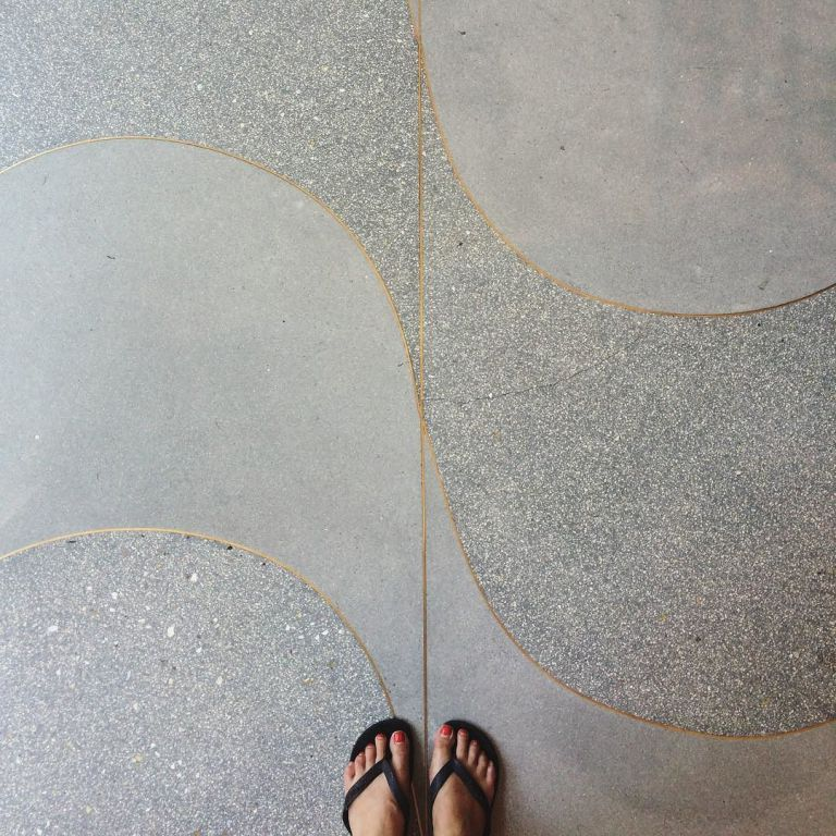 Beautiful Ihavethisthingwithfloors Floor Curves Terrazzo Stone