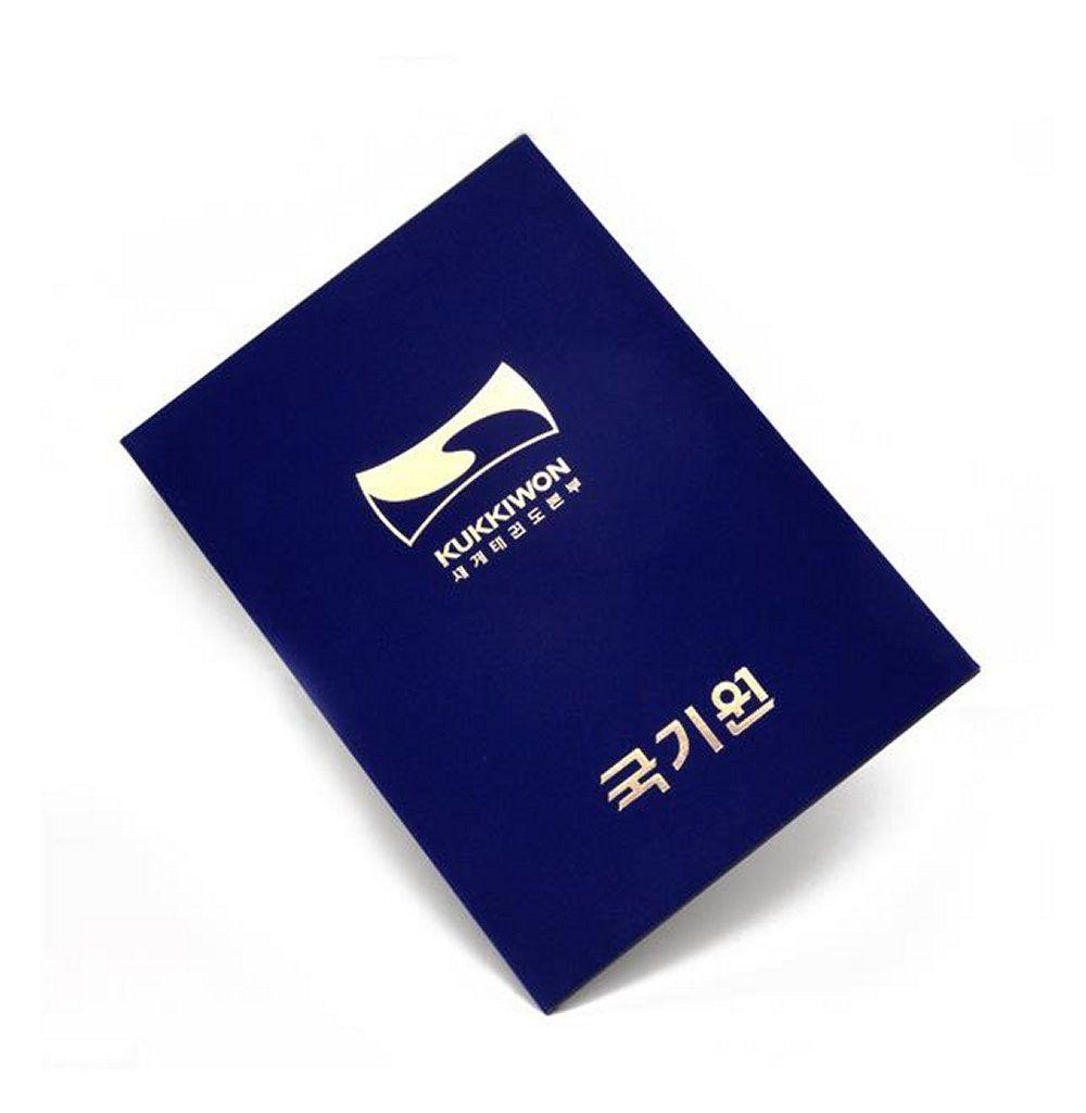 Kukkiwon Dan Certificate Case Kukkiwon Dan Certificate Caseholder