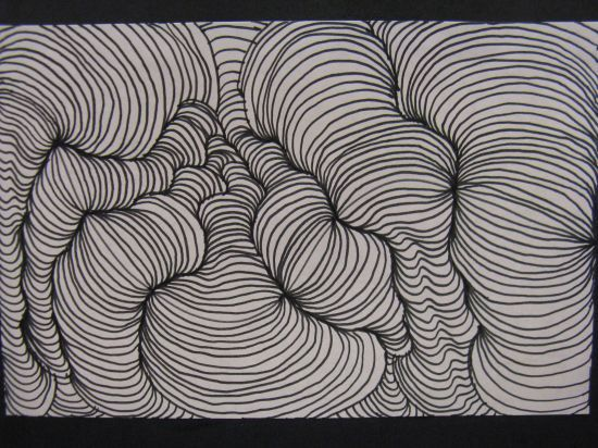Line Art Illusion : Art line project ideas op an teachers