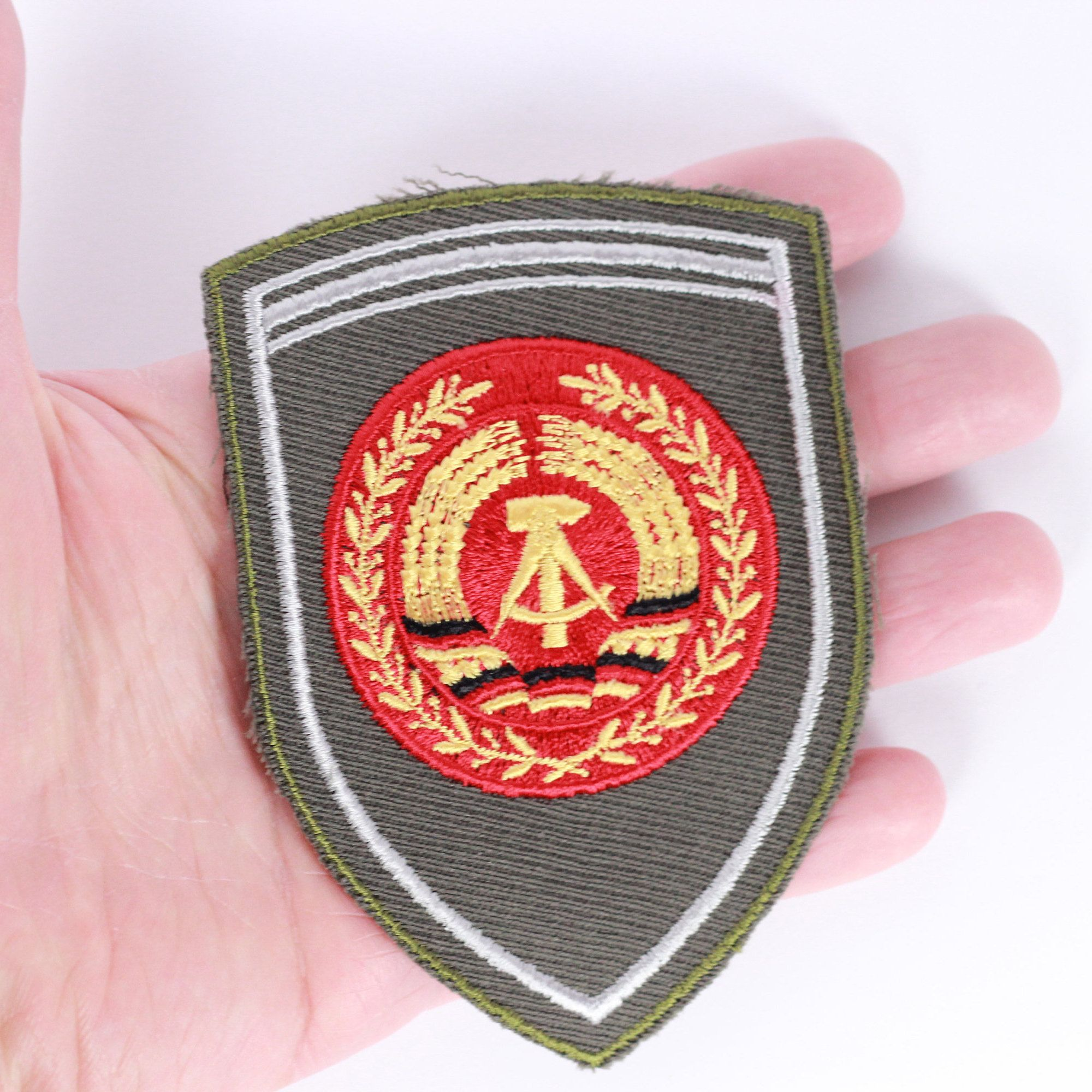 Vintage Army Patches, Army Old Stock, Embroidery Patch