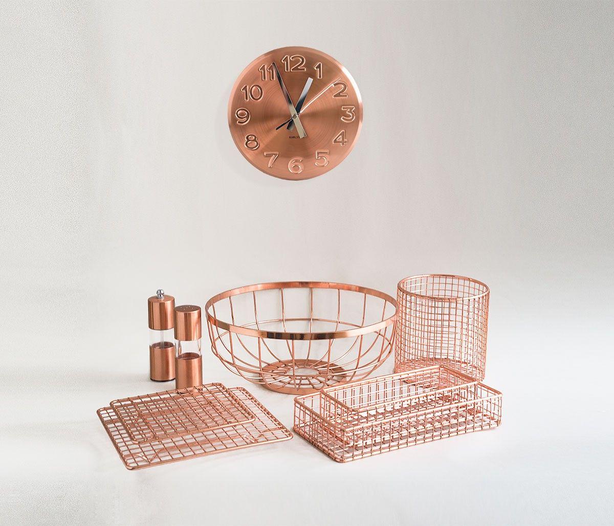 Un nuevo set de utensilios para Cocina en Cobre muy design en: http ...