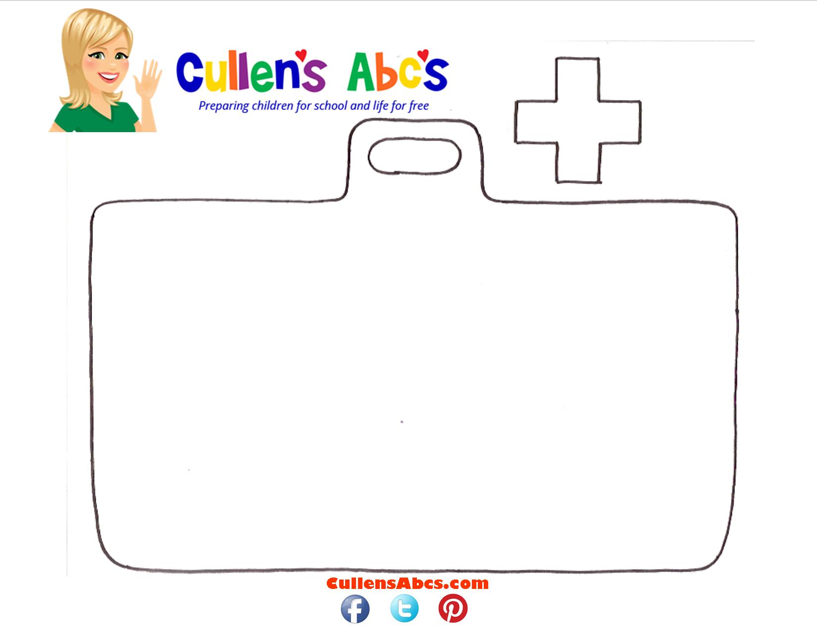 Pin By Cullen S Abc S On Doctors Amp Nurses Diy Preschool