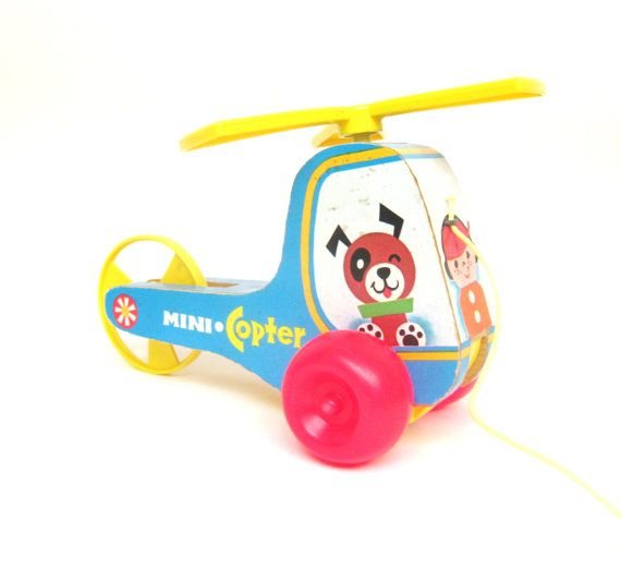 fisher price mini copter #448