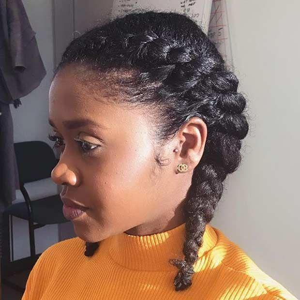 Flat Twist Pigtails Flat Twist Hairstyles Natural Hair Twists Natural Hair Twist Out