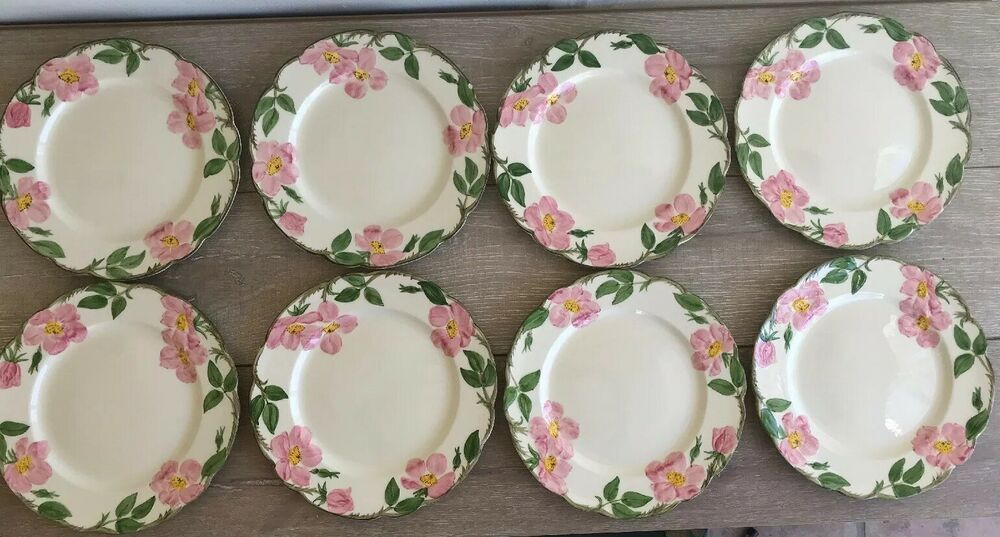 """1 Franciscan Desert Rose 10-1//2/"""" DInner Plate made in China  More Available"""