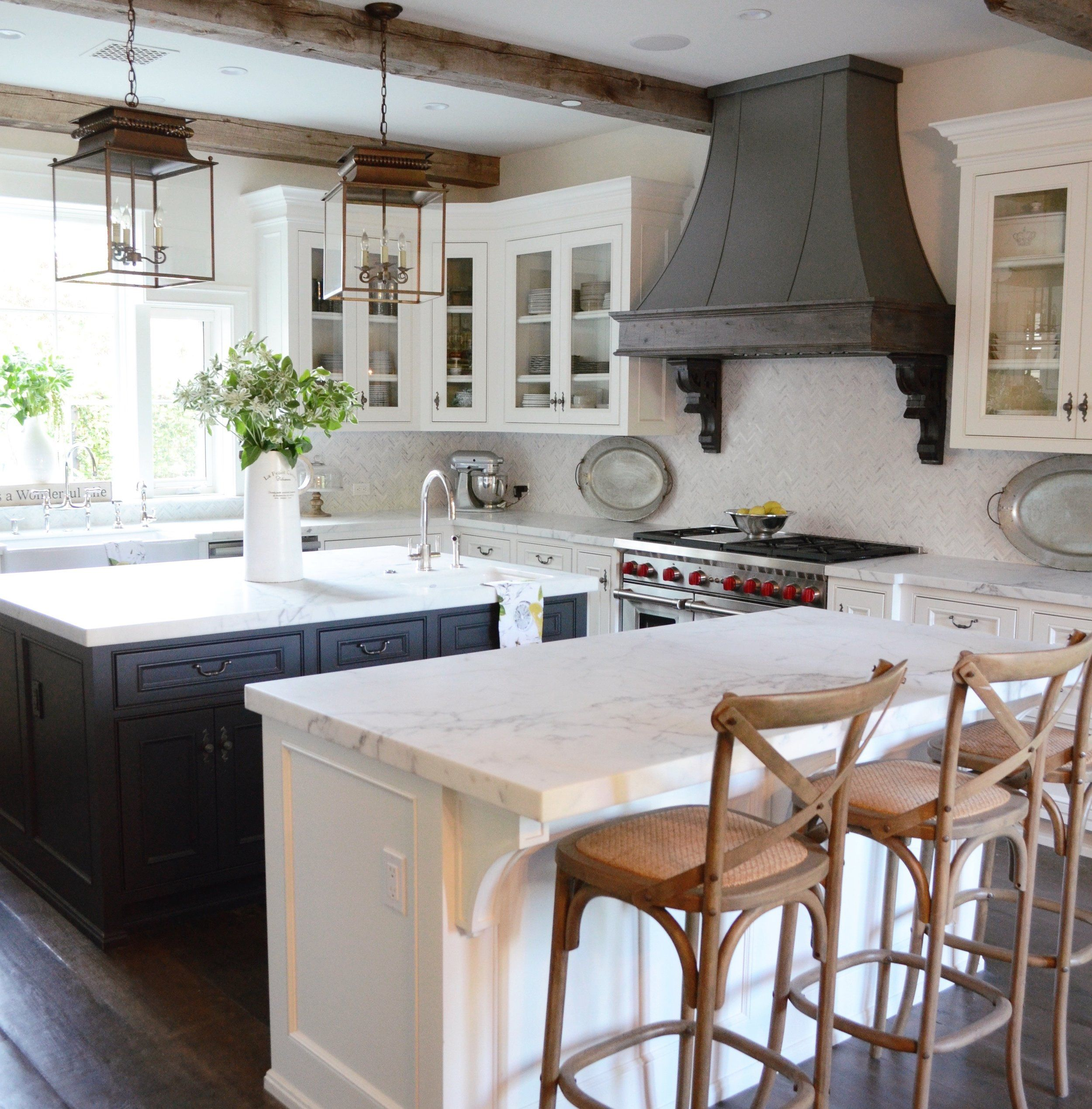 Best Farmhouse Paint Colors Sanctuary Home Decor Country Kitchen Farmhouse Kitchen Island Home Kitchens French country hardware for kitchen cabinets