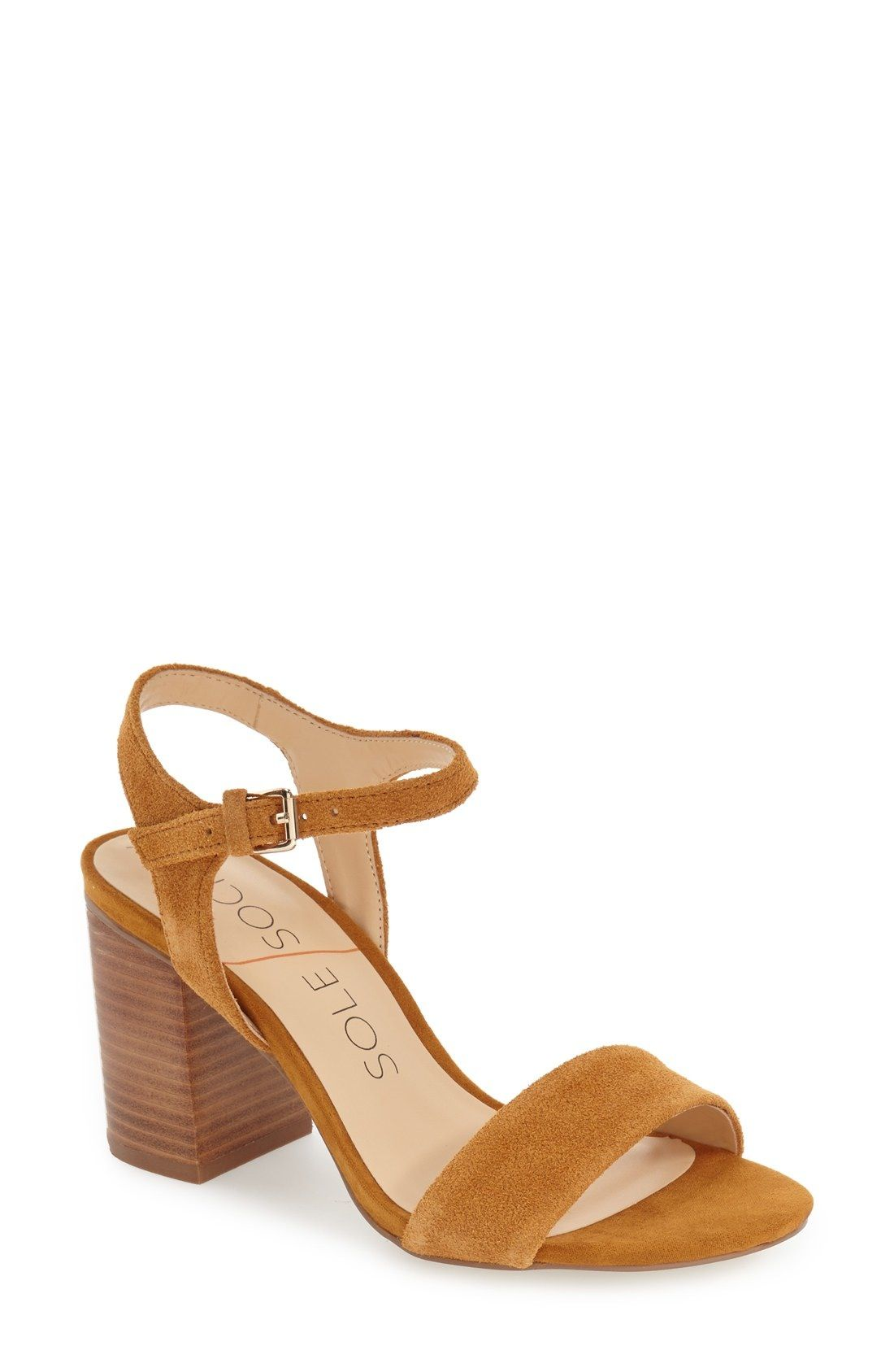 de9984da088c Sole Society  Linny  Ankle Strap Sandal (Women) available at  Nordstrom