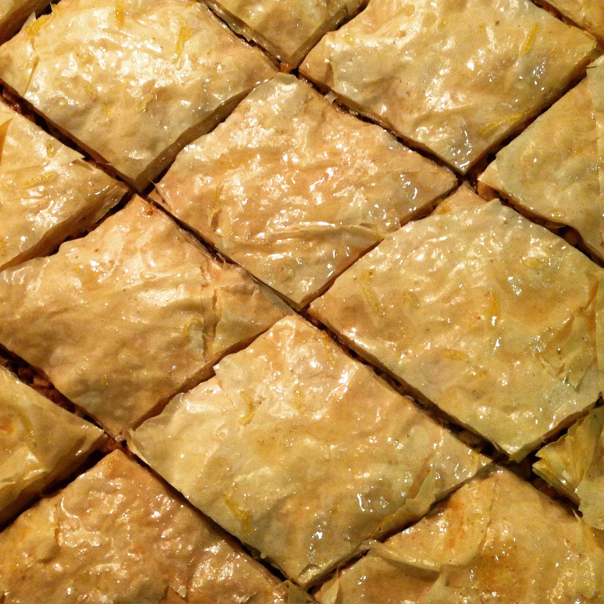Watch how easy it is to make baklava at home dessert greek watch how easy it is to make baklava at home dessert greek forumfinder Gallery