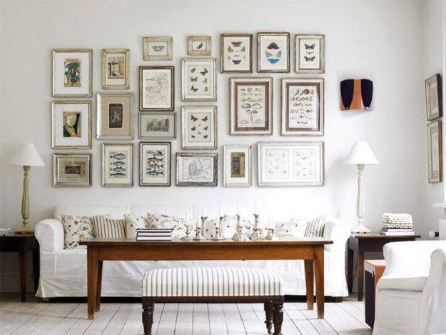 Abbinare divano alle pareti art gallery walls pinterest