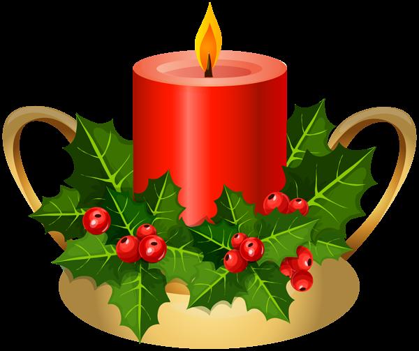 Christmas Candle Png Clip Art Image Natal Png Velas De Natal Natal