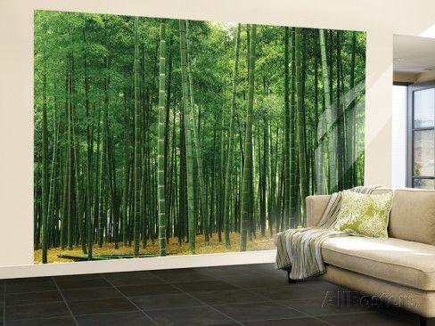 Wall Mural Prints bamboo plantation huge wall mural poster print wall mural at
