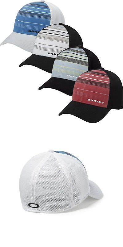 Hats 52365  Oakley Golf Silicon Bark Trucker 2.0 Print Hat Cap 911722 -  Select Size And Color! -  BUY IT NOW ONLY   12.99 on eBay! 242662868d7