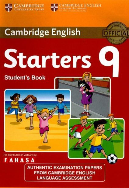 Cambridge: tests for starters 9 | book pdf + scans + key + 🎧 audio cd.