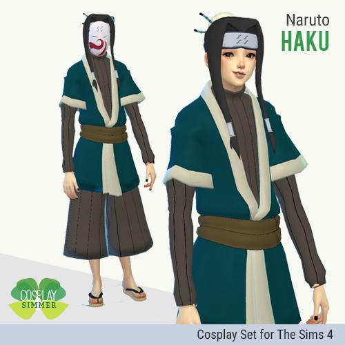 SIM TS4: Haku (Naruto Shippuden)