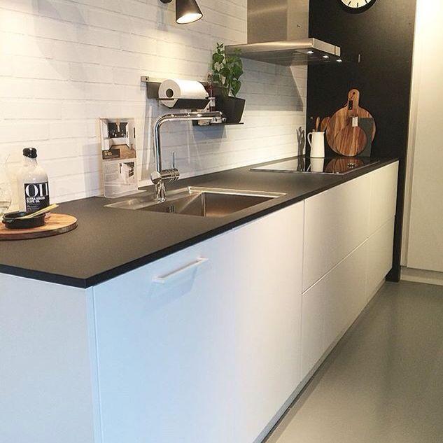 sentikvik | kitchen | pinterest | white brick walls, open