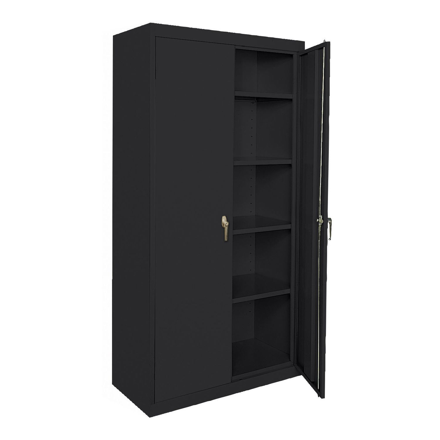 2018 Metal Storage Cabinet with Lock Corner Kitchen Cupboard Ideas
