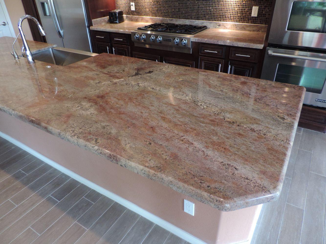 Fire Bordeaux Granite Granite Countertops Granite Kitchen Lake
