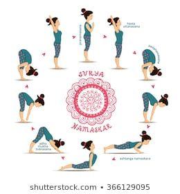 surya namaskar  sun salutation  vinyasa yoga vinyasa