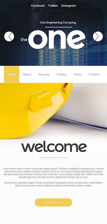 industrial most popular responsive javascript animated template